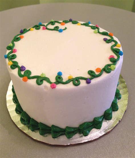 christmas lights layer cake classy girl cupcakes