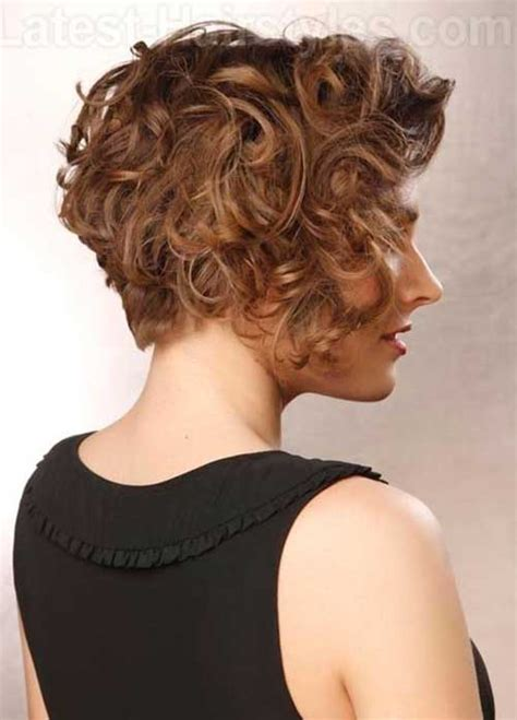 bob haircuts for curly hair front and back 13 best short layered curly hair short hairstyles 2017