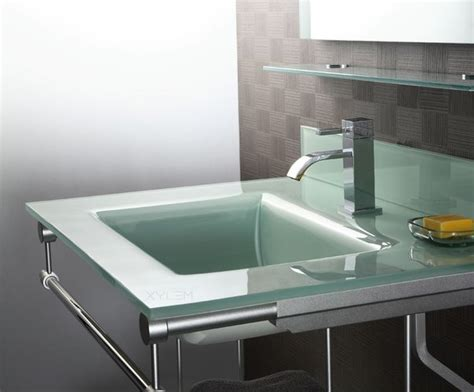 glass bathroom countertops sinks xylem gst glass top square bowl countertop bathroom sink