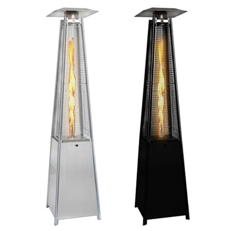 hire patio heaters the real pyramid patio heater in stainless steel or