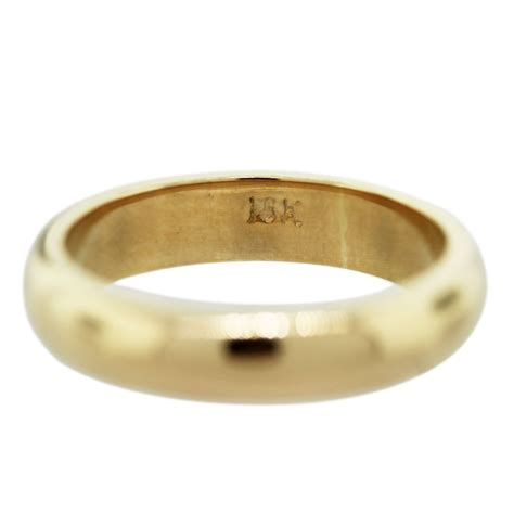 yellow gold mens wedding band ring raymond lee jewelers