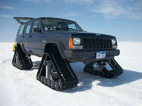 jeep track tracks for an xj any cost effective options jeepforum com