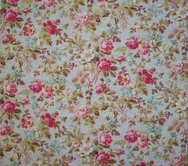antique fabrics floral reproduction vintage fabric