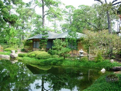 Japanese Botanical Garden Houston Points Of Interest Hermann Park Conservancy