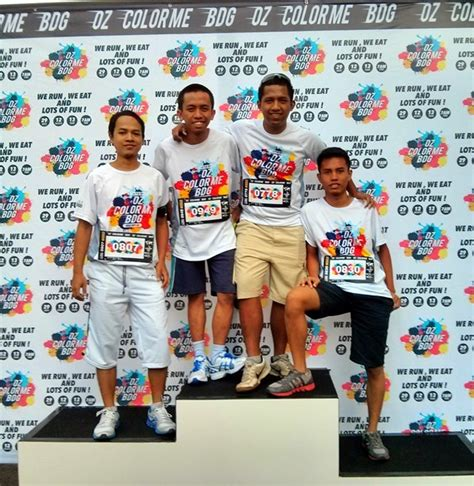 Kaos The Run Finish color me run musafir kehidupan