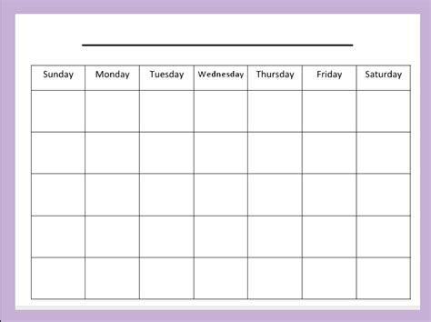 printable planning calendar for teachers blank month calendar monthly meal plan pinterest