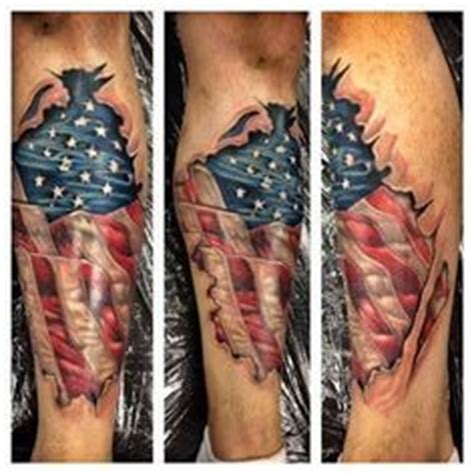 flag tattoos american flag tattoos and fallen empire on