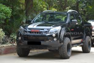 Isuzu Rodeo Dmax This Isuzu D Max V Cross Is Even More Badass Than You