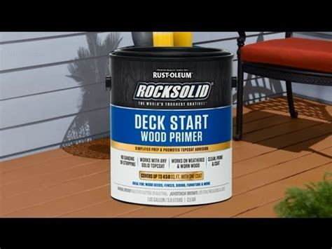 preparing  deck  rocksolid deck start wood primer