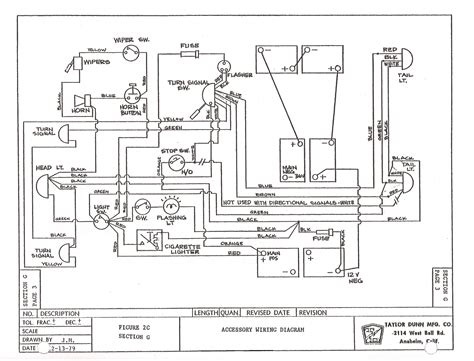 tomberlin golf cart wiring schematic 28 images