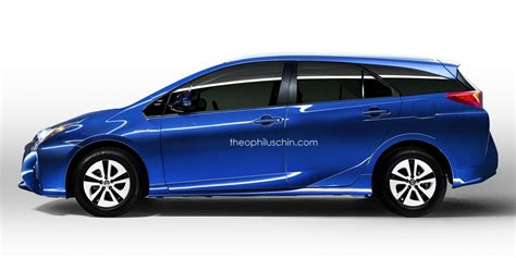 Toyota Prius Wagon This Prius Wagon Rendering Is What Every Toyota Fan Will