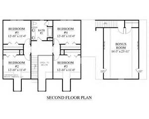 2 Story House Plans With Master On Main Floor by Houseplans Biz House Plan 2341 B The Montgomery B