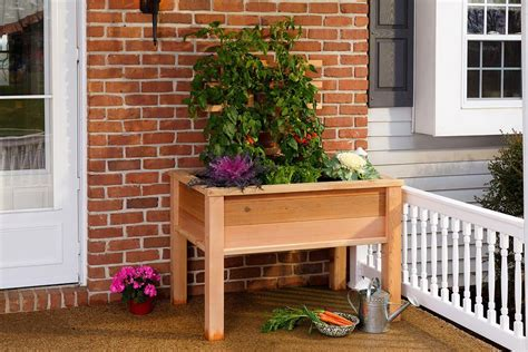 Elevated Garden Planters by Elevated Garden Planter Boxes Yardcraft