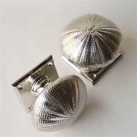 Seashell Door Knobs sea urchin door knob and cupboard knob product df 58