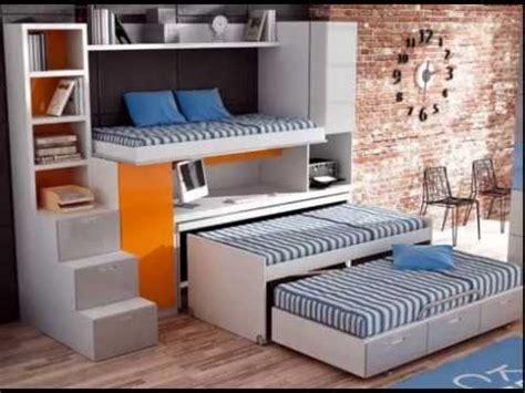 dormitorios infantiles con dos camas