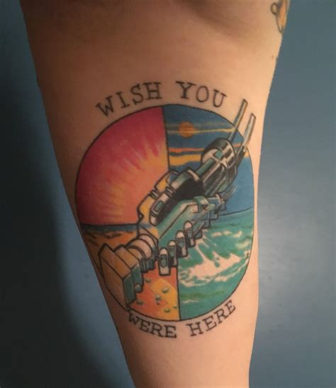 wish you were here tattoo pink floyd s wish you were here alternative album cover