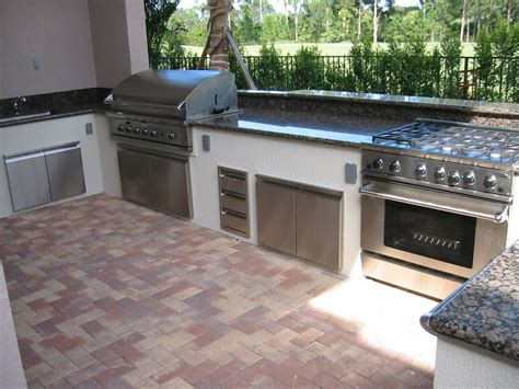outdoor bbq kitchen designs custom built in barbecue native home garden design