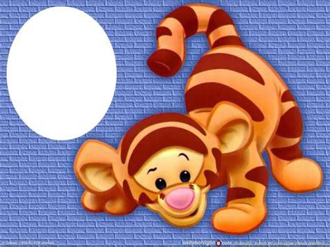 imagenes de winnie pooh y tigger bebes montaje fotografico tigger bebe pixiz