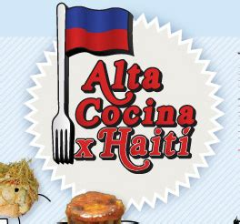 cocina haiti once chefs espa 241 oles cocinan por hait 237 vivalebio