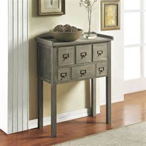 altra 6 drawer accent console table 5089096