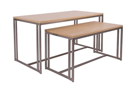 display tables for boutique boutique nesting tables instore design display retail