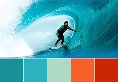 tropical color palette jwatson creative behind the scenes
