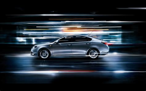 Car Lights Wallpaper Lights And Speeding Car Wallpaper The Wallpaper Database