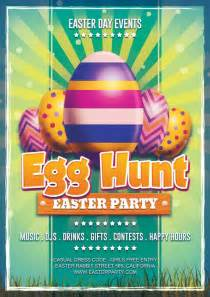 easter egg hunt template free easter day egg hunt free flyer template
