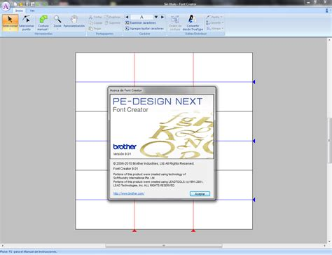 pe design next font creator pe design next software bordados