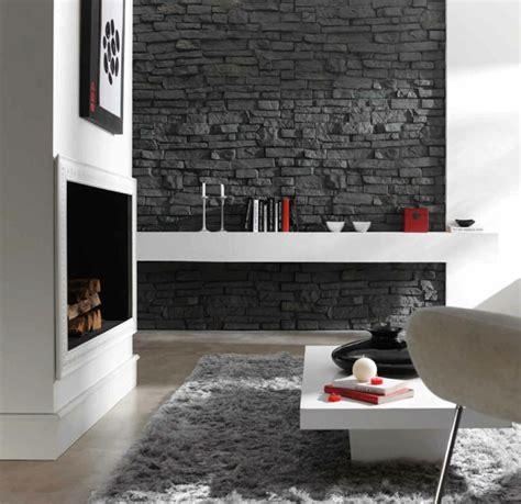 Stein Wandverkleidung Wohnzimmer by Wandpaneele Steinoptik Stellen Eine Schicke M 246 Glichkeit