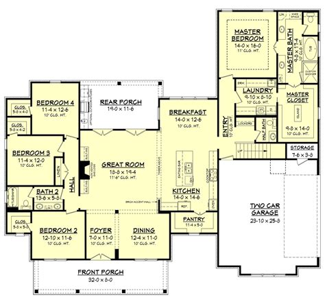 farm house plan erin house plan floor plans house plans