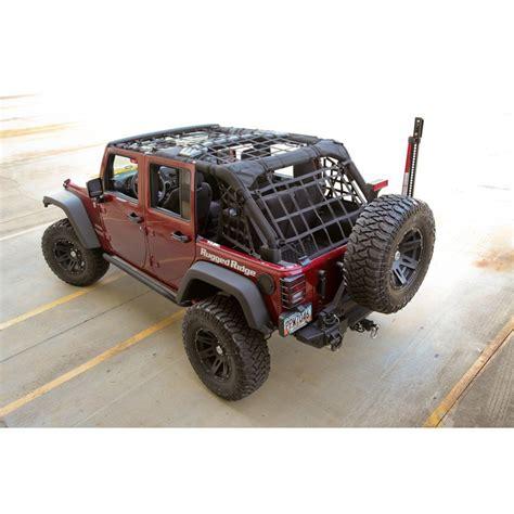 Jeep Net Cargo Net Black 07 17 Jeep Wrangler Jk 4 Door