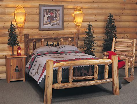rustic log bedroom sets bedroom furniture cozy log furniture sets picture