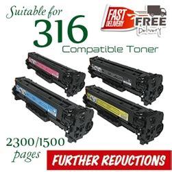 Canon 316 Cymk Compatible Bergaransi compatible canon 316 set