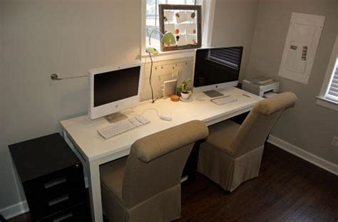 2 Person Home Office Desk 2 Person Desk Ikea Idea Of Desk Office Homesfeed