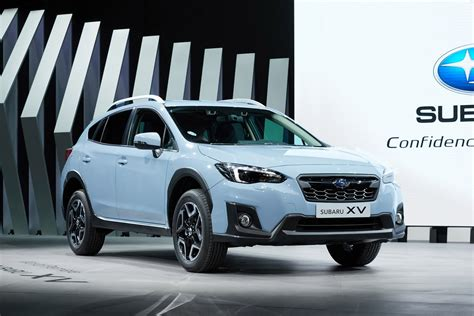 2018 subaru xv is here with familiar looks new platform