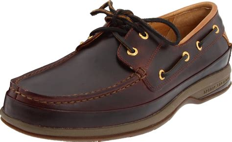 Eye Gold Shoes sperry top sider sperry topsider mens gold 2 eye boat shoe in brown for amaretto lyst