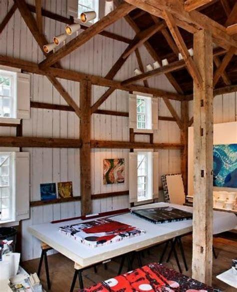 fachwerk innen dekorieren interessante home studio designs f 252 r k 252 nstler sehr