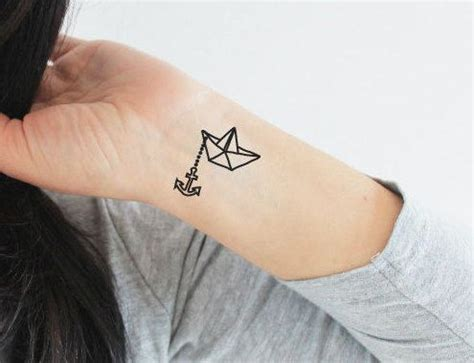 paper boat tattoo 17 best ideas about boat tattoos on sailboat