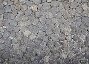 Cobblestone Tile Flooring Texture Black Stones Floor 1
