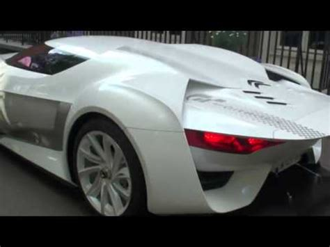 citroen supercar citroen gt supercar in london youtube