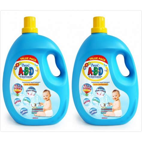 Liquid Malaysia Funtastic pureen a b d liquid detergent 4800 ml value pack bath