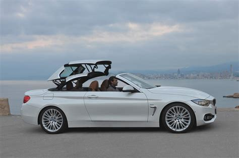 hair styles for convertible cars bmw 4 series convertible 420d se first drive