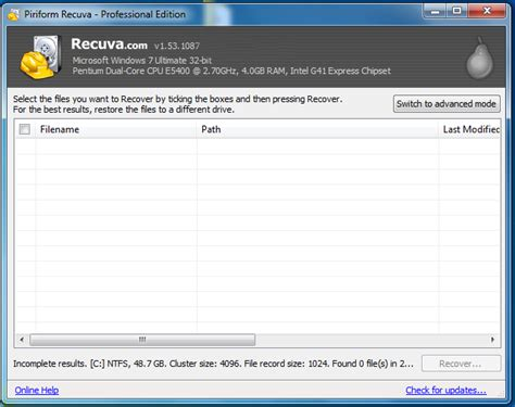 recuva full version free download recuva 1 44 778 data recovery latest full version free
