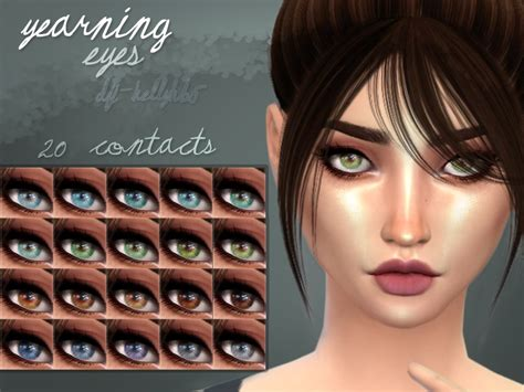 sims 4 cc sclera contact kelly hannah s yearning eye contacts