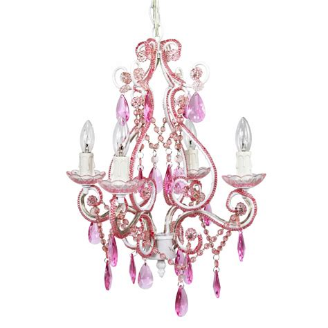 Pink Nursery Chandelier Pink Nursery Chandelier Cinderella Chandelier With Pink Crystals And Nursery Lighting Room In