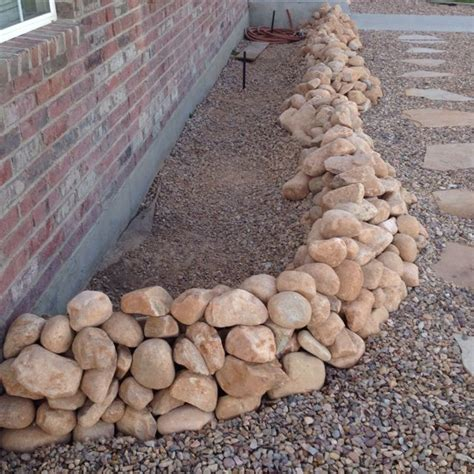 stone bed stone raised flower bed to be beautiful pinterest