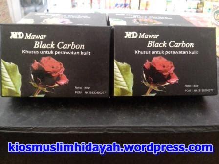 Sabun Mawar Md Black Carbon sabun herbal muslim hidayah store