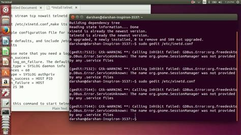 telnet to a how to install and configure telnet server in ubuntu