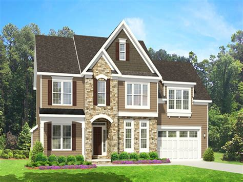 two story home with 2 story house plans floor master 2 story house